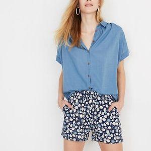 Madewell Central Shirt Bright Indigo Blue Medium